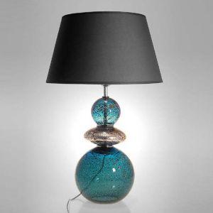 Crisbase Lampe à poser Composition en verre soufflé avec abat-jour