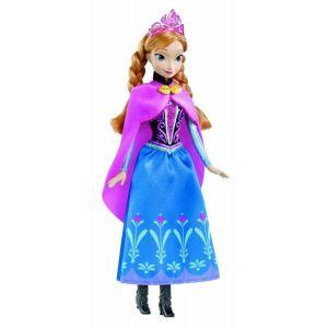 Mattel Poupée La Reine des neiges : Anna scintillante