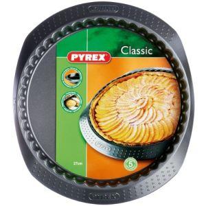 Pyrex 4936148 - Moule à tarte en métal 27 cm