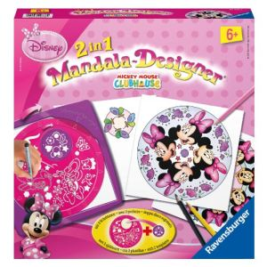 Ravensburger Mandala Designer 2 en 1 - Minnie