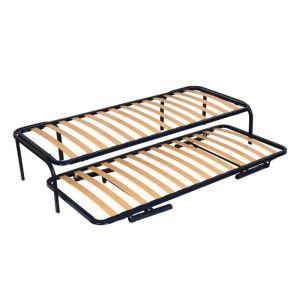 sommier metallique comparer 938 offres. Black Bedroom Furniture Sets. Home Design Ideas