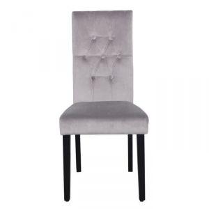 462 offres chaise velours comparez avant d 39 acheter en ligne. Black Bedroom Furniture Sets. Home Design Ideas