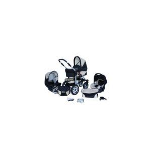 Image de Lux4kids Matrix Lancer - Poussette combinée 3 en 1 avec nacelle et siège auto cosy