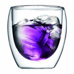 Bodum 4558-10 - 2 verres Pavina double paroi (25 cl)