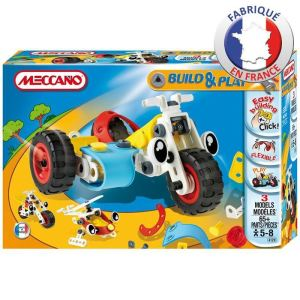 Meccano Build and Play Side-car 65 pièces
