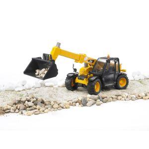 Bruder Toys 2141 - Chargeur Caterpillar bras télescopique - Echelle 1:16