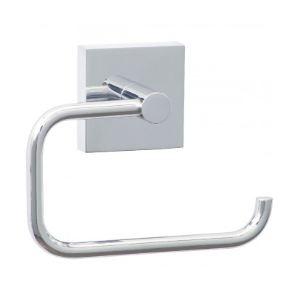 Nie Wieder Bohren EK235 - Porte-rouleau de papier toilette Ekkro collection zamac sans couvercle