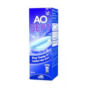 Alcon Aospet Plus - Solution d'entretien pour lentilles