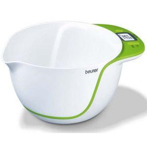 Beurer KS53 - Balance de cuisine électronique avec bol mélangeur