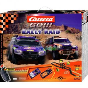 Carrera Toys Go!!! 62203 - Circuit de voitures Rally Raid