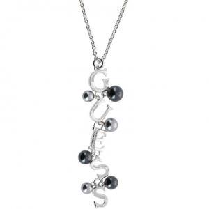Guess Ubn51462 - Collier pour femme en métal argenté