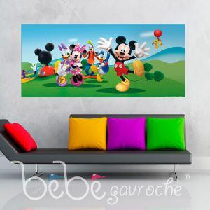 Poster géant La Maison de Mickey Disney