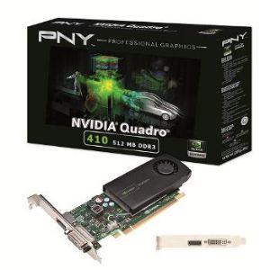 PNY VCQ410-PB - Carte graphique Quadro 410 Low Profile 512 Mo DDR3 PCI-E 2.0
