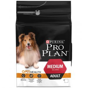 Purina Pro Plan Medium Adult OptiHealth 3kg - Croquettes pour chiens