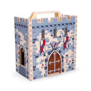 Legler Château fort avec valise - Coffret jeu enfant chevalier