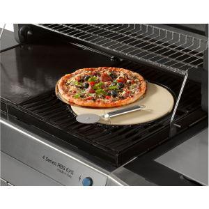 Campingaz 2000014582 - Pierre à pizza en céramique + plaque en acier + roulette Culinary