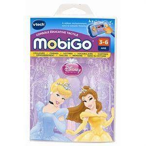Vtech Jeu Mobigo Disney Princesses