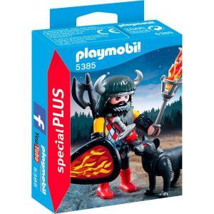 Playmobil 5385 - Loup et guerrier