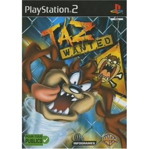 Taz Wanted sur PS2