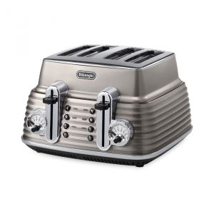 Delonghi Ctz4003gy - Grille-pain 4 tranches
