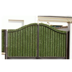 Euro Castor Green Haie éternelle en brins 1,5 x 1,8 m