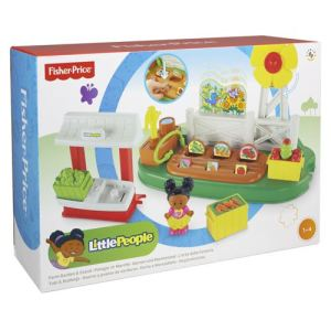 Fisher-Price Little People jardin et étal de marché