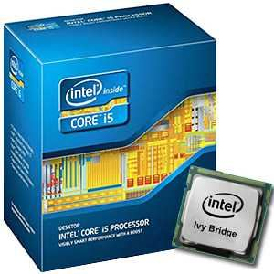 Intel Core i5-3570K (3,4 GHz) - Socket LGA1155