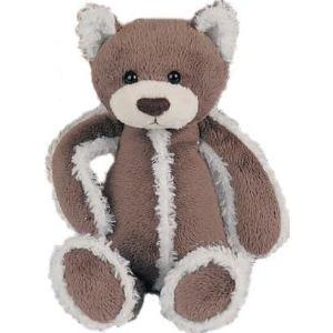 Histoire d'ours Doudou Chat marron polaire 30 cm