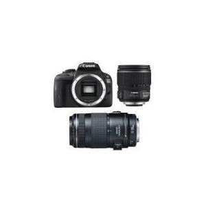 Canon EOS 100D (avec 2 objectifs 15-85mm et 70-300mm)