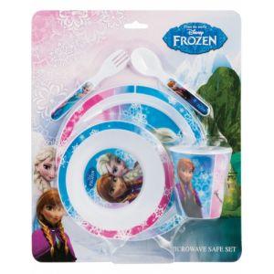 Coffret vaisselle en plastique La Reine des Neiges