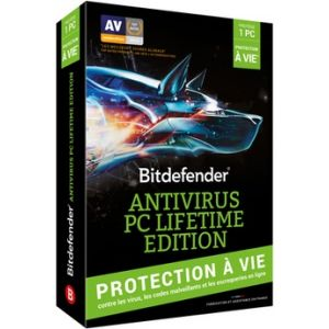 Bitdefender Antivirus PC Lifetime Edition 2016 pour Windows