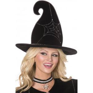 Chapeau de sorcière luxe Halloween