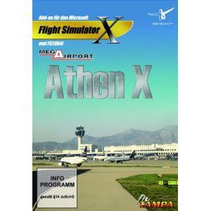 Mega Airport Athen X - Add-on pour Flight Simulator X sur PC