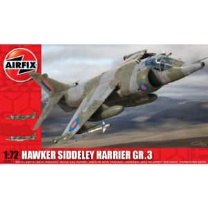 Airfix A04055 - Maquette avion Hawker Siddeley Harrier GR3 - Echelle 1:72