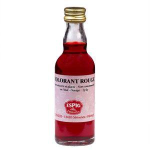 Espig Colorant alimentaire liquide rouge (50ml)
