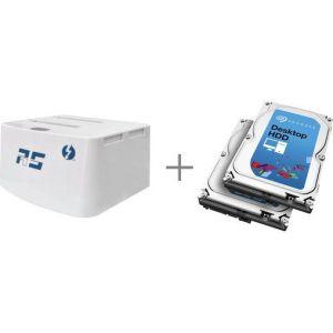 HighPoint RocketStor 5212 - Dock Thunderbolt + 2 x 3 To HDD