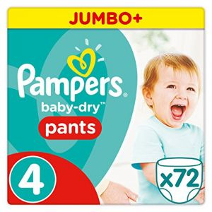 Pampers Baby-Dry Pants taille 4 Maxi (8-15 kg) - Jumbo Plus Pack 72 couches