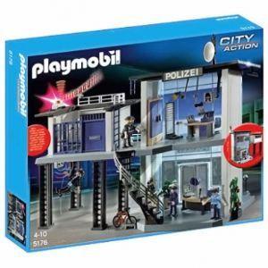 Playmobil 5176 - Commissariat de police avec système d'alarme