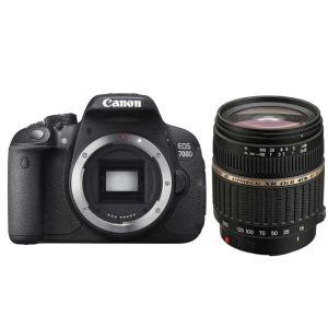 Canon EOS 700D (avec objectif Tamron 18-200mm)