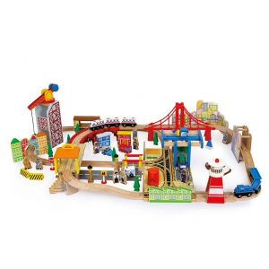 Legler Circuit de train en bois Sours
