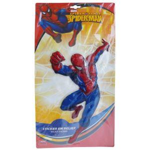 Fun House Sticker géant 3D Spiderman