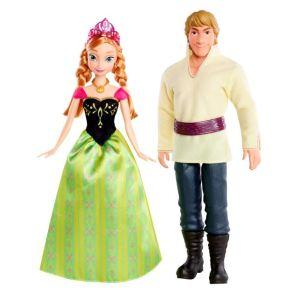 Mattel Coffret Anna et Kristoff La Reine des Neiges