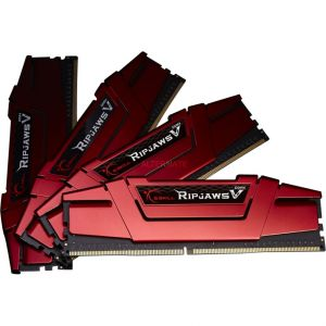 G.Skill F4-3200C14Q-64GVR - Barrette mémoire Ripjaws V Series 64 Go (4 x 16 Go) DDR4 CAS 14