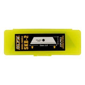 Olfa SKB-2 - 5 lames Blister trapézoidales pour cutter (lame 18 mm)