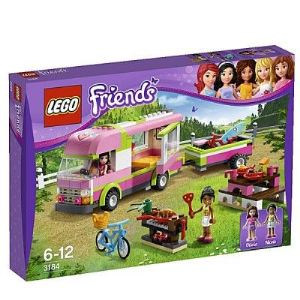 Lego 3184 - Friends : Le camping-car