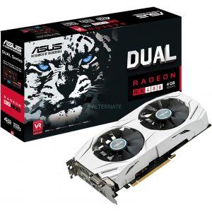 Asus DUAL-RX480-4G - Carte graphique Radeon RX 480 4 Go GDDR5 PCIe 3.0 x16
