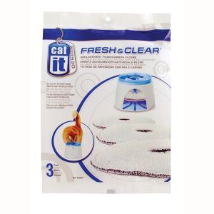 Catit Filtres de rechange Fontaine a eau Fresh & Clear 2l (par 3)