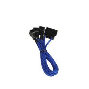 Bitfenix BFA-MSC-M33F7VBK-RP - Reducteur de tension pour ventilateur molex 4 vers 3x 3 broches 12V vers 7V