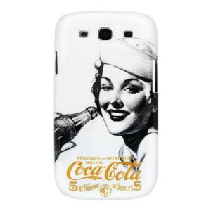Coquediscount.com CCHSGLXYS3S1202 - Coque Coca-Cola Golden Beauty pour Galaxy S3