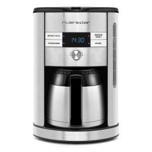 Riviera & bar BCF560 - Cafetière filtre digitale inox isotherme